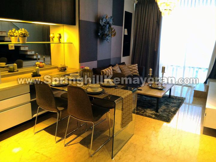 Show Unit Springhill Royale Suites Kemayoran