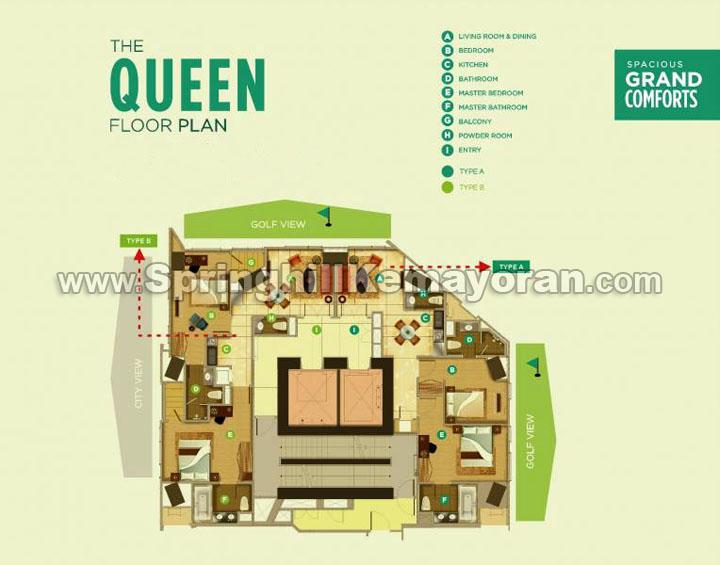 Springhill Royale Suites Kemayoran Queen