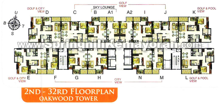 Springhill Terrace Kemayoran Oakwood